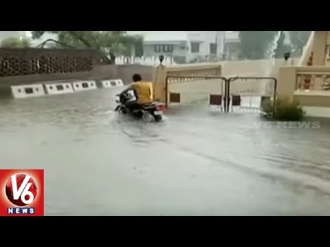 Heavy Rains Lashes Assam, Uttarakhand And West Bengal, To Continue For Next 24 Hour | V6 News