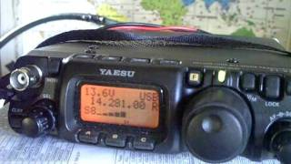 FT817 500MW QSO WITH GM3...