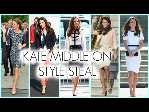 Kate Middleton Style Tutorial~ Makeup+Hair+Fashion