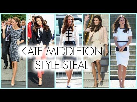 Kate Middleton Style Tutorial Makeup Hair Fashion Youtube