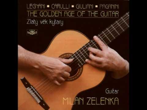 Romance by Niccolo Paganini - Milan Zelenka