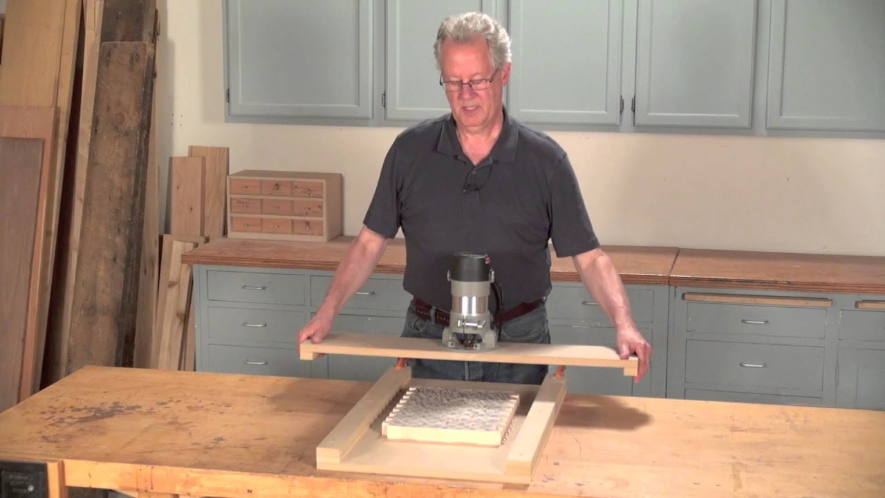Simple router planer jig woodworking 101