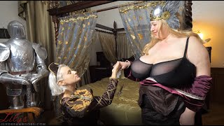 Angel Wicky and Lilydreamboobs - 2 medieval Queens