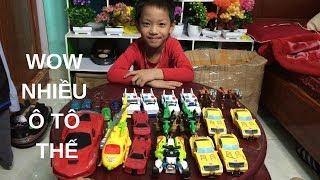 Viết Đại khui hộp Zìn zín khám phá thế giới đồ chơi - Viết Đại explore the world of mini toys