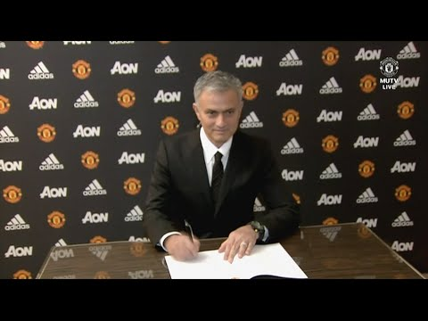 José Mourinho's First Interview as Manchester United Manager!