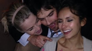 Inside Nina Dobrev's 25th Birthday Party With Ian Somerhalder & Julianne Hough - Details!