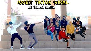 Download lagu JOGET TIKTOK VIRAL DI TEMPAT UMUM.. NGAKAK PARAH
