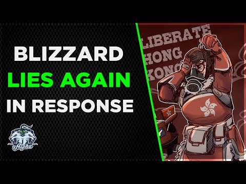 Blizzard LIES with response to the Blitzchung ban outrage controversy