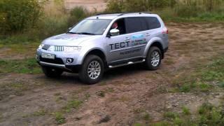 Тест-драйв  Mitsubishi Pajero Sport !