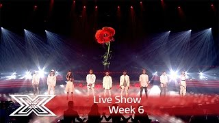 Download Lagu The Contestants open the show with Rise up | Results Show | The X Factor UK 2016 Gratis STAFABAND