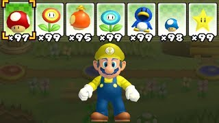 What happens when Mayro uses Mario's Power-Ups?