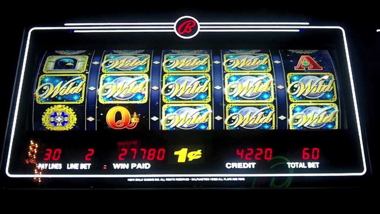 moon goddess slot machine big win