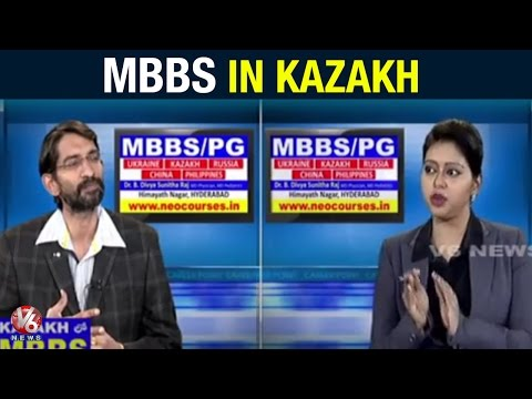 Career Point | MBBS in Kazakh | Kazakh National Medical University | V6 News (03-06-2015)