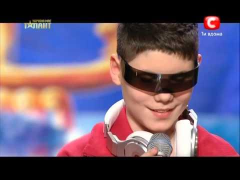 Украина имеет талант 5 сезон -диджей Юрий Астахов  9.03.2013
