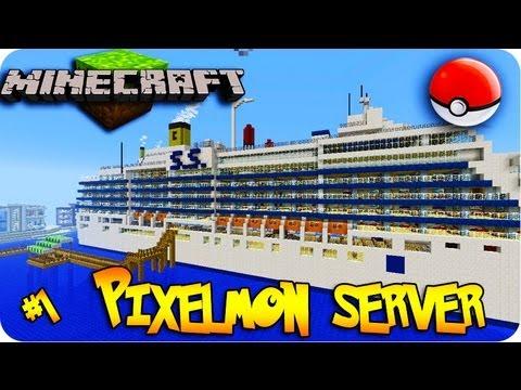 Pixelmon! Minecraft Pokemon Mod! Ep # 1 LITTLE LIZARD SERVER LET'S PLAY  !
