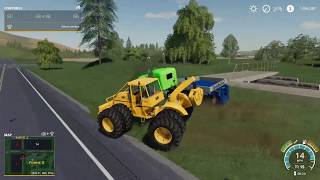 RESCUING A K30 AND TRACTOR FROM THE SWAMP! - PART 1 - FS19