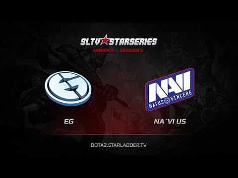 EvilGeniuses vs NaViUS SLTV America Season X Day 6 Game 3