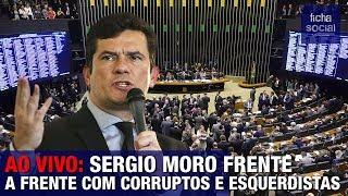 AO VIVO: SERGIO MORO FRENTE A FRENTE COM SENADORES CORRUPTOS E ESQUERDISTAS - GOV. BOLSONARO