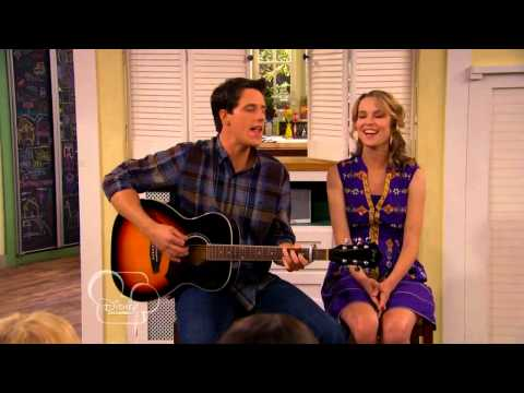 Good Luck Charlie - Teddy and Spencer sing for one last time.