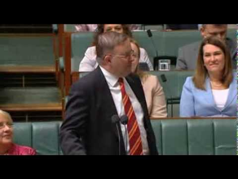 An example of Political Theatre in the Australian House of Representatives