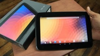 Google Nexus 10 Unboxing