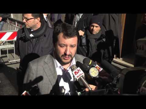 Quirinale - Salvini: nome? almeno una volta eletto da popolo e non complice disastri europei
