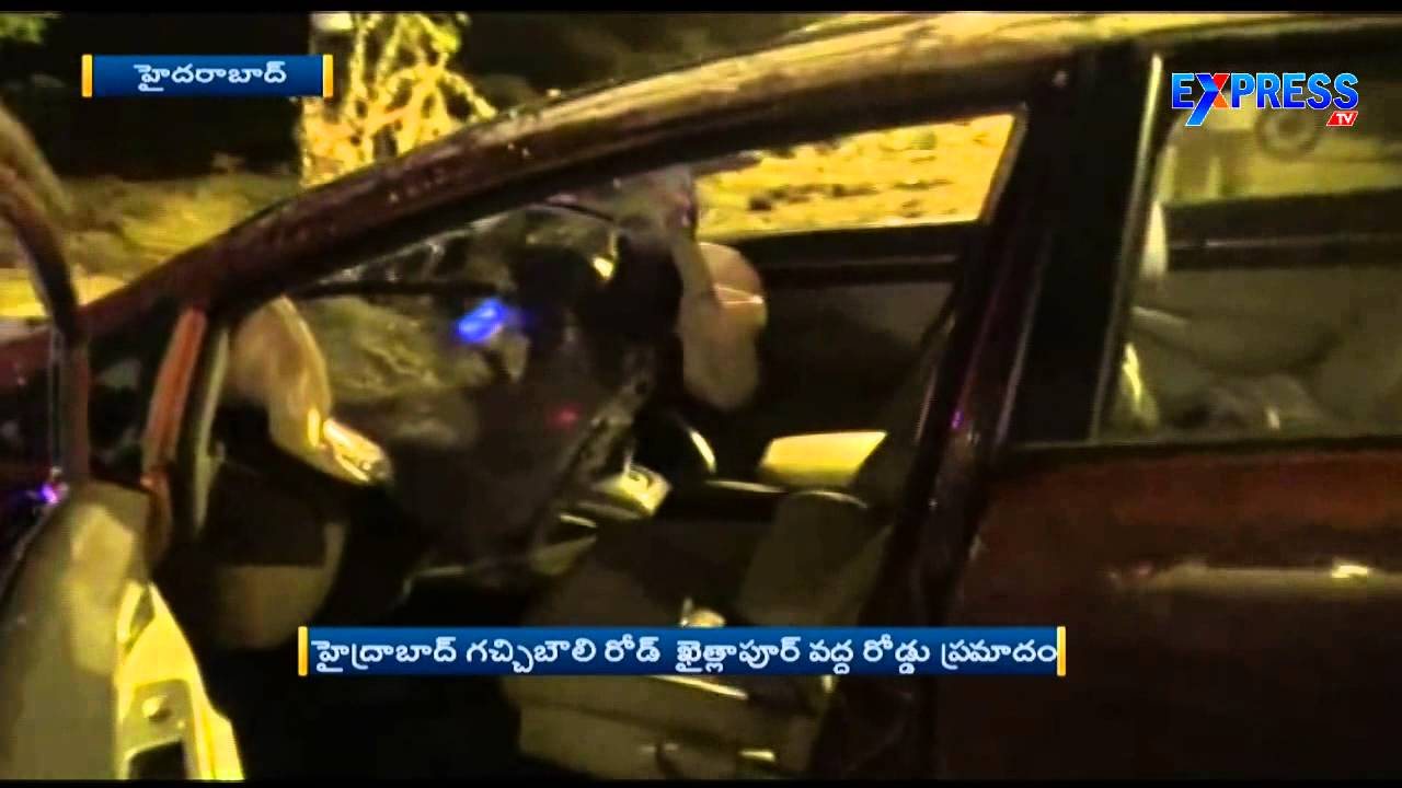 Cars And Bikes Express Tv Car Hits Bike at Kaithlapur on