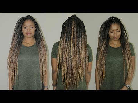 The MOST Realistic Faux Dreads   Super Light. Quick Install & Reusable
