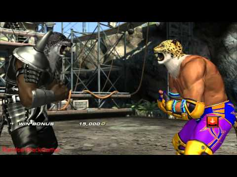 Tekken Tag Tournament 2 All Special Win Poses pt. 2 2 HD