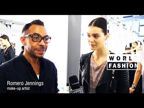 Backstage Angelos Bratis Spring-Summer 2015 Milan Fashion Week