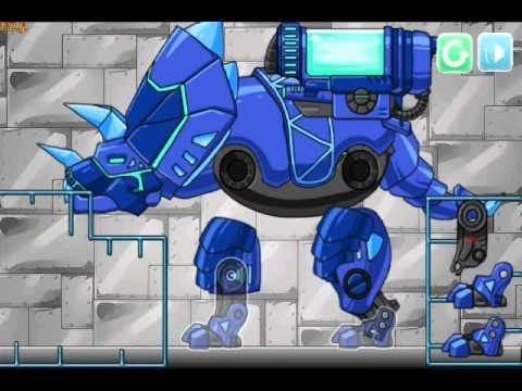 Robot Dinosaurus Merakit Robot Dinosaurus