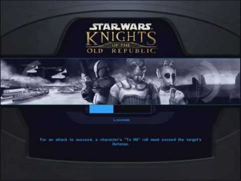 Star Wars: Knights of the Old Republic gameplay on iPad