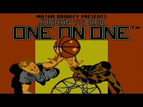 Jordan vs. Bird: One on One - NES Gameplay