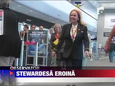 Stewardesa Eroina 17 Iunie 2010 video