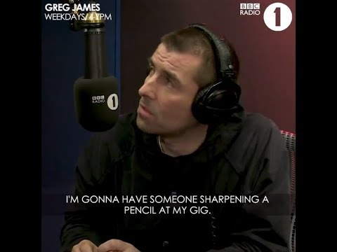 Liam Gallagher on Pot Noodles, hot coffee and Noel´s Scissors at Jools Holland