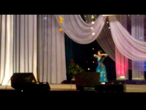 Amina Garayeva indian dance Bolliwood dupatta beiman re