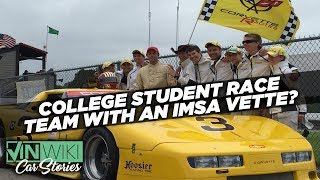 No one wants to lose to college kids with a 700 hp IMSA Vette