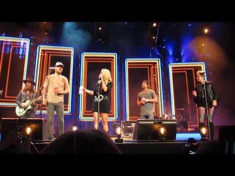 Miranda Lambert, Brothers Osborne and Kip Moore