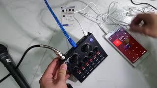 Sound card v8 ( sự dụng cho loa vì tính và loa kéo) giá 570k sdt 0902616967