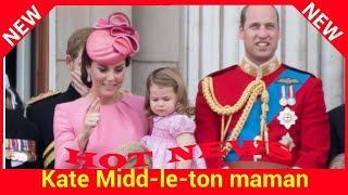 Kate Middleton maman : pourquoi la princesse Charlotte entre dans l'histoire?
