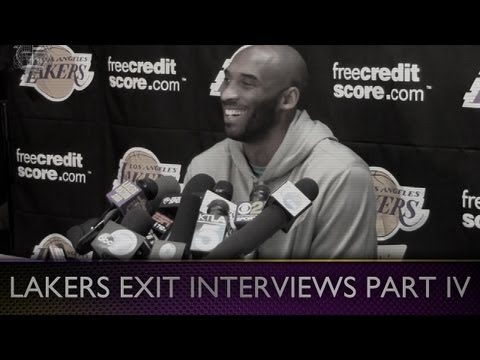 2013 Lakers Exit Interviews: Kobe (Pt. V) Fan Support, Jason Collins & Advice To Dwight