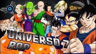 420 MUSIC | RAP DE UNIVERSO 7 - IVANGEL MUSIC - DRAGON BALL RAP