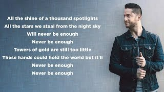 Never Enough (The Greatest Showman) - Loren Allred/Kelly Clarkson (Lyrics)(Boyce Avenue piano cover)