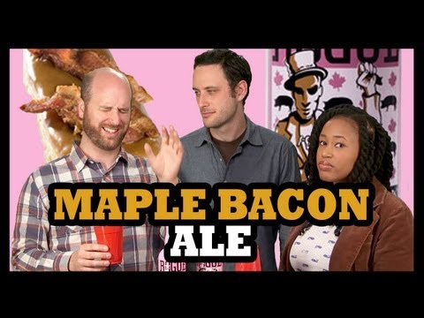 Why Would You Drink...  Bacon Donut Beer? - Food Feeder