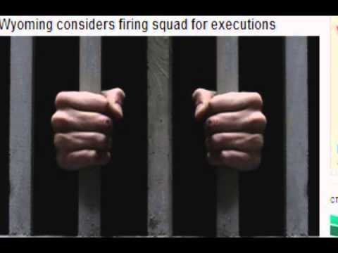 Wyoming firing squad for executions