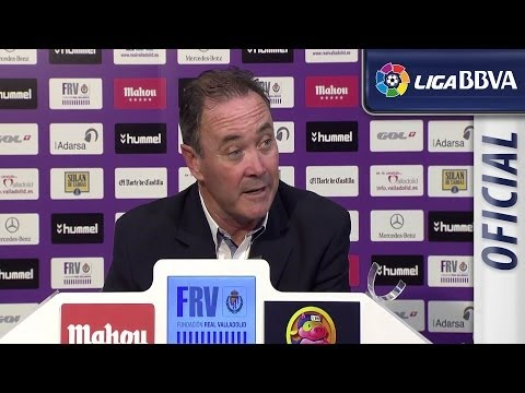 Press Conference JIM after Real Valladolid (1-1) Real Madrid - HD