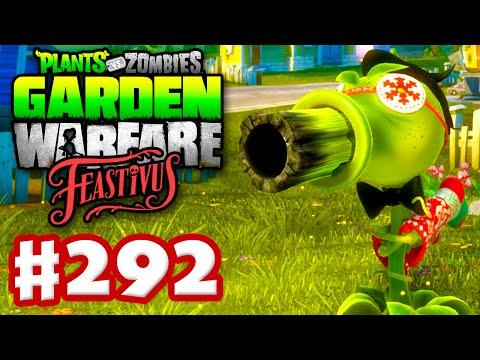 Plants vs. Zombies: Garden Warfare - Gameplay Walkthrough Part 292 - Feastivus Knitted Socks! (PC)