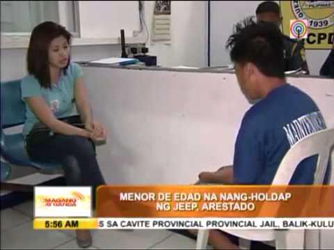 Drunk Minor Accused Of Robbing Jeepney Passenger323 video