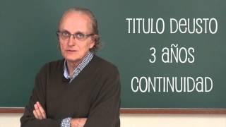 Titulado Universitario en Cultura y Solidaridad