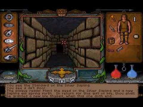 Ultima Underworld - Gameplay